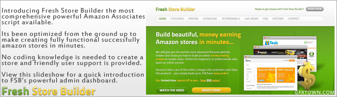 Fresh Store Builder